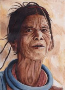 woman-head-acrylic-painting-steve-beadle-art