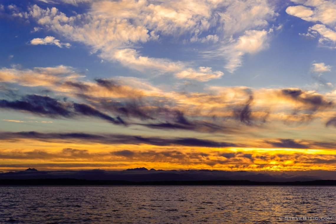 sunset on the seattle - photo #26