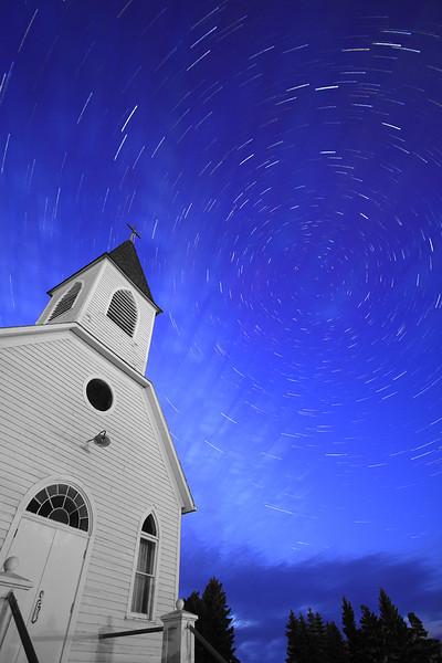 Church Star Trail