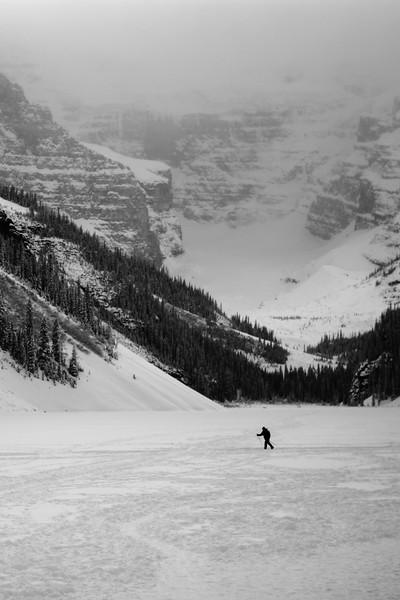 Lake Louise skier