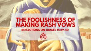 Jephtah's Vow in Judges