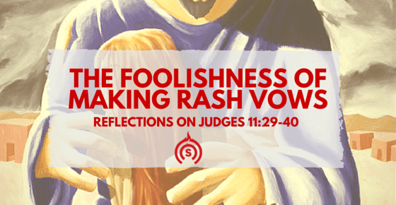 Jephtah's Vow in Judges