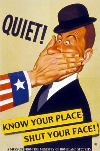war propaganda quiet