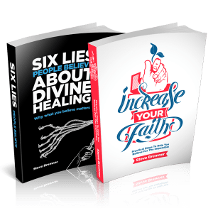 6 Lies People Believe About Divine Healing & Increase Your Faith combo pack