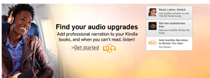 Amazon Audio Upgrades