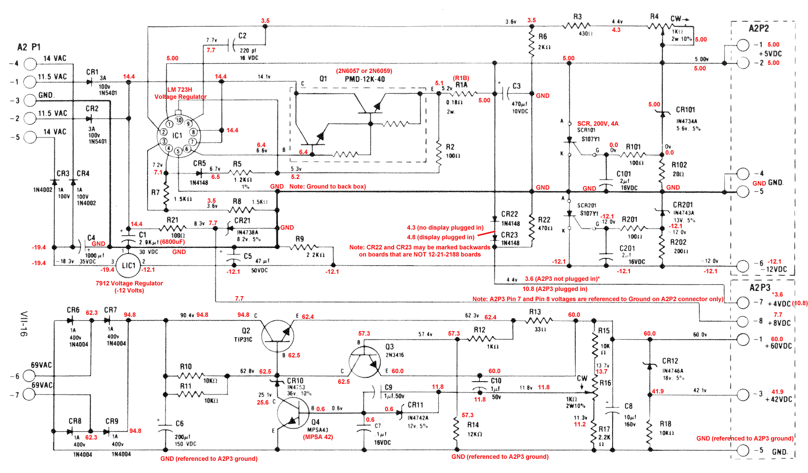 hight resolution of gottlieb system 1 power supply schematic with voltages my wiring diagram