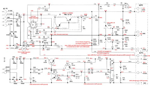 small resolution of gottlieb system 1 power supply schematic with voltages my wiring diagram