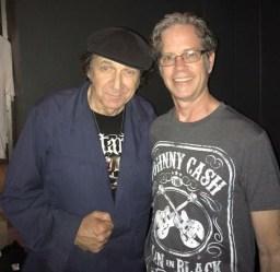 Steve Kent with John Denney of The Weirdos