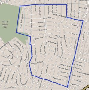 Map_of_Beverlywood_neighborhood,_Los_Angeles,_California