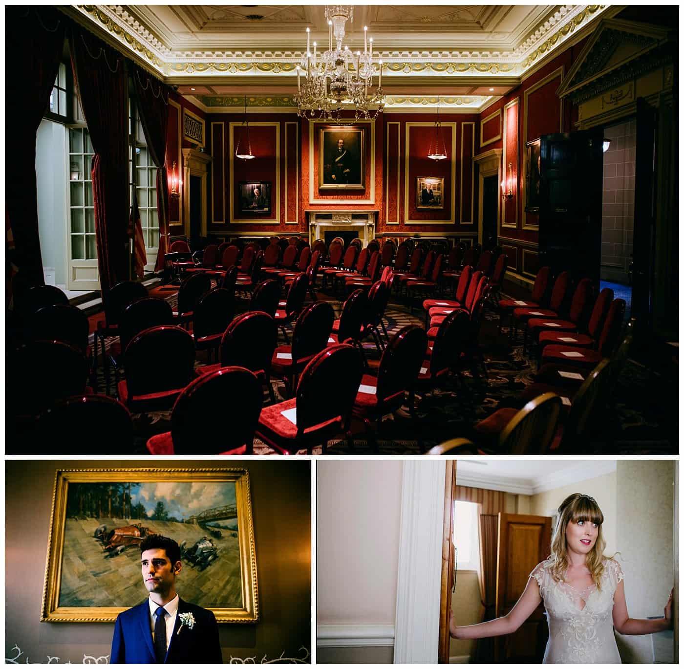 Royal Automobile Club wedding photos  RAC London England
