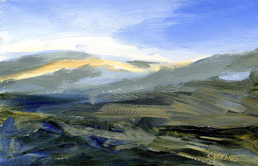Steve Greaves - Scottish Highlands - landscape painting