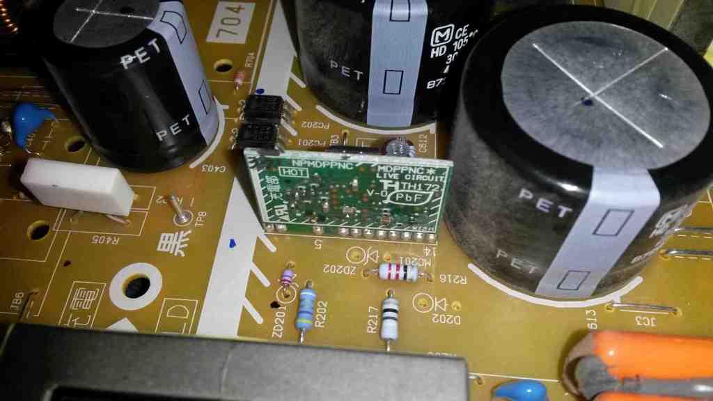 Panasonic plasma power supply