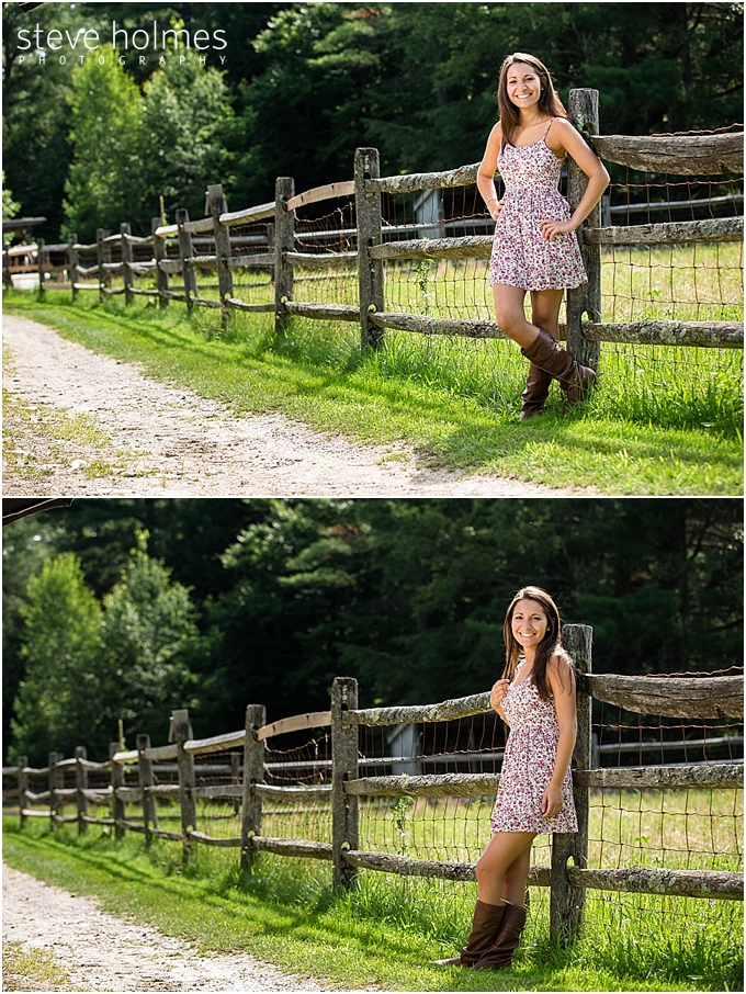 Becca Stonewall Farm  Keene Senior Photographer