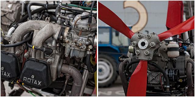 microlight aircraft engine details