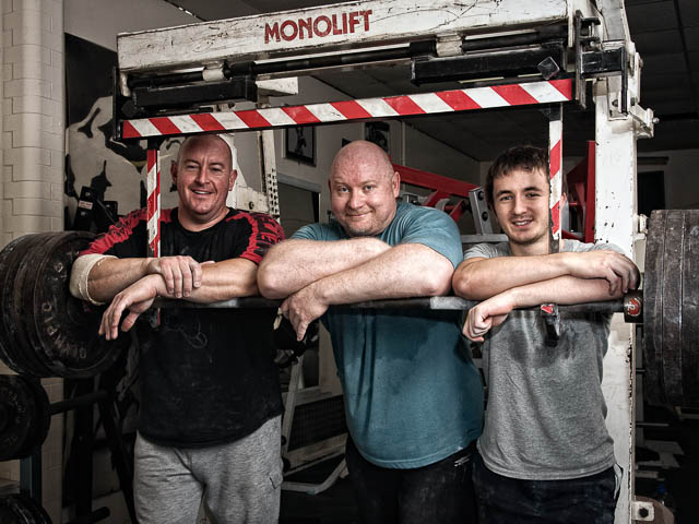 Power Lifters Take A Break From Training