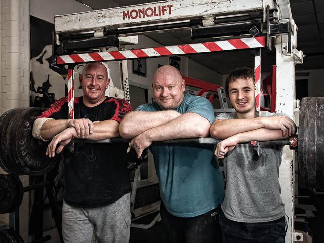 Power Lifters Take A Break From Training
