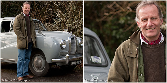 Classic Car Collector Portraits