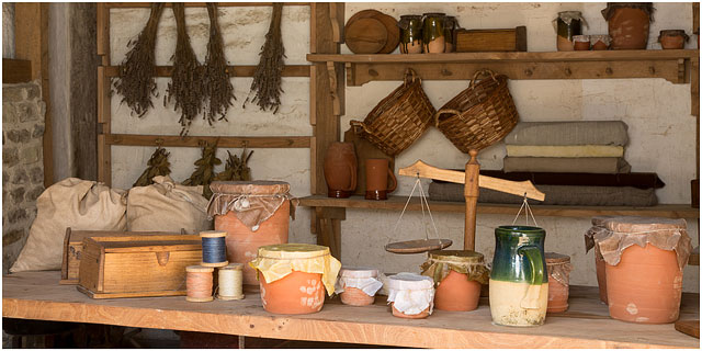 15Th Century Medieval Shop From Horsham