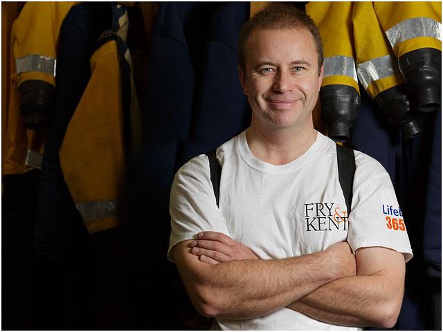 Portrait of Portsmouth RNLI Volunteer Crew Member