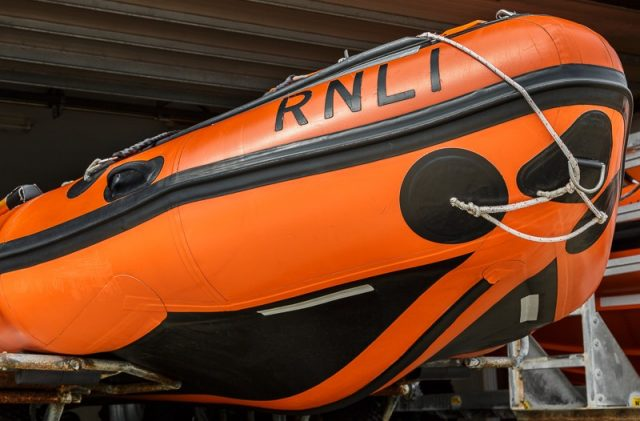 Portsmouth RNLI Station's 'Brian's Pride' D Class Inshore Lifeboat