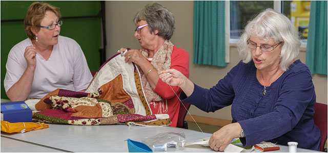 Denmead Quilting Group Carrie And The Breakaways