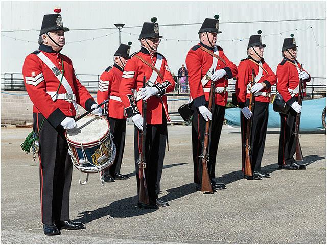 1830 Fort Cumberland Guard Drill Demonstration Portsmouth Historic Dockyard