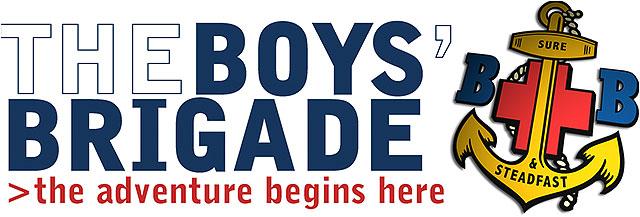 The boys brigade logo on a white background