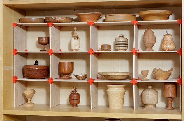 Wooden lathe turned items