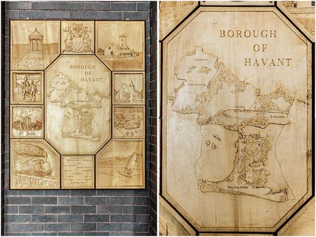 Havant borough council woodcarving