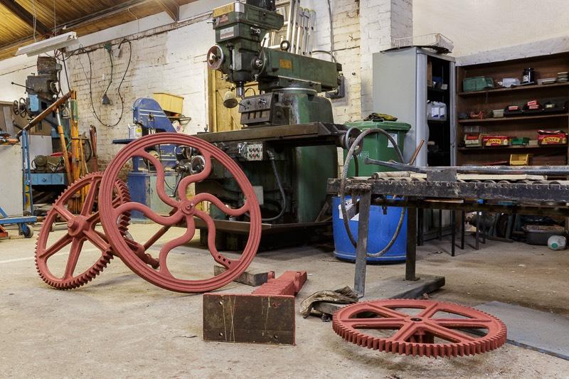 Bursledon Brickworks Museum volunteers workshop