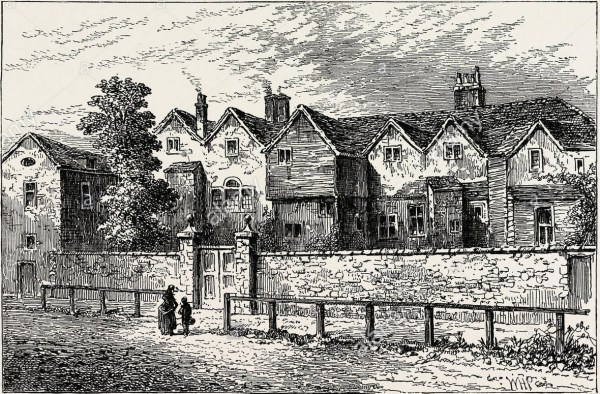 Bethnal Green was the location of Stratton's Lunatic Asylm, which had once been called Kirby's castle. This was a private institution which had various owners over the decades.
