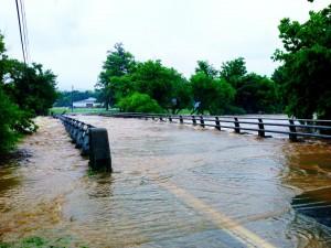 Low Water Bridge at Mill Lane