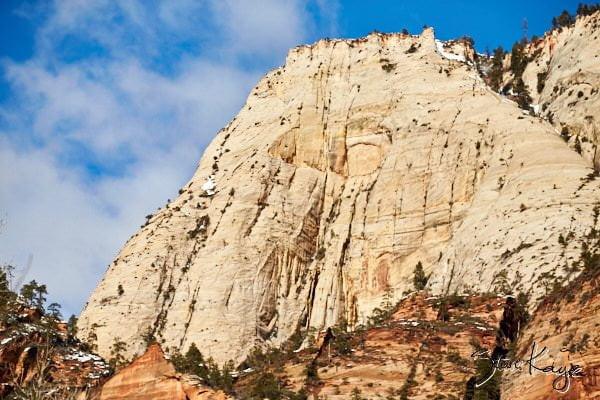 Castle Dome, Zion National Park, (c) Photo by Steve Kaye, in photo article: Zion National Park