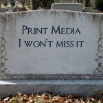 death of print