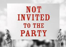 not invited