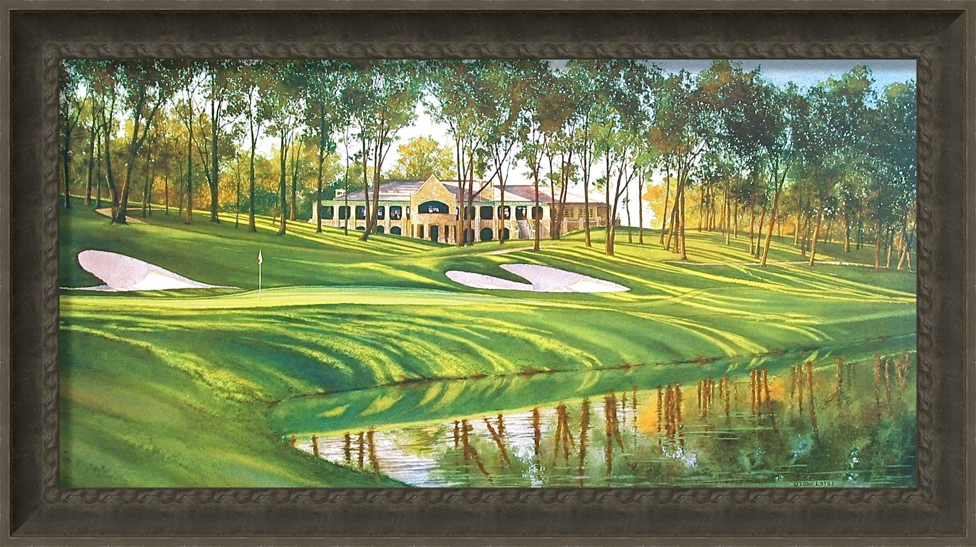 Image result for tpc deere run 18th hole
