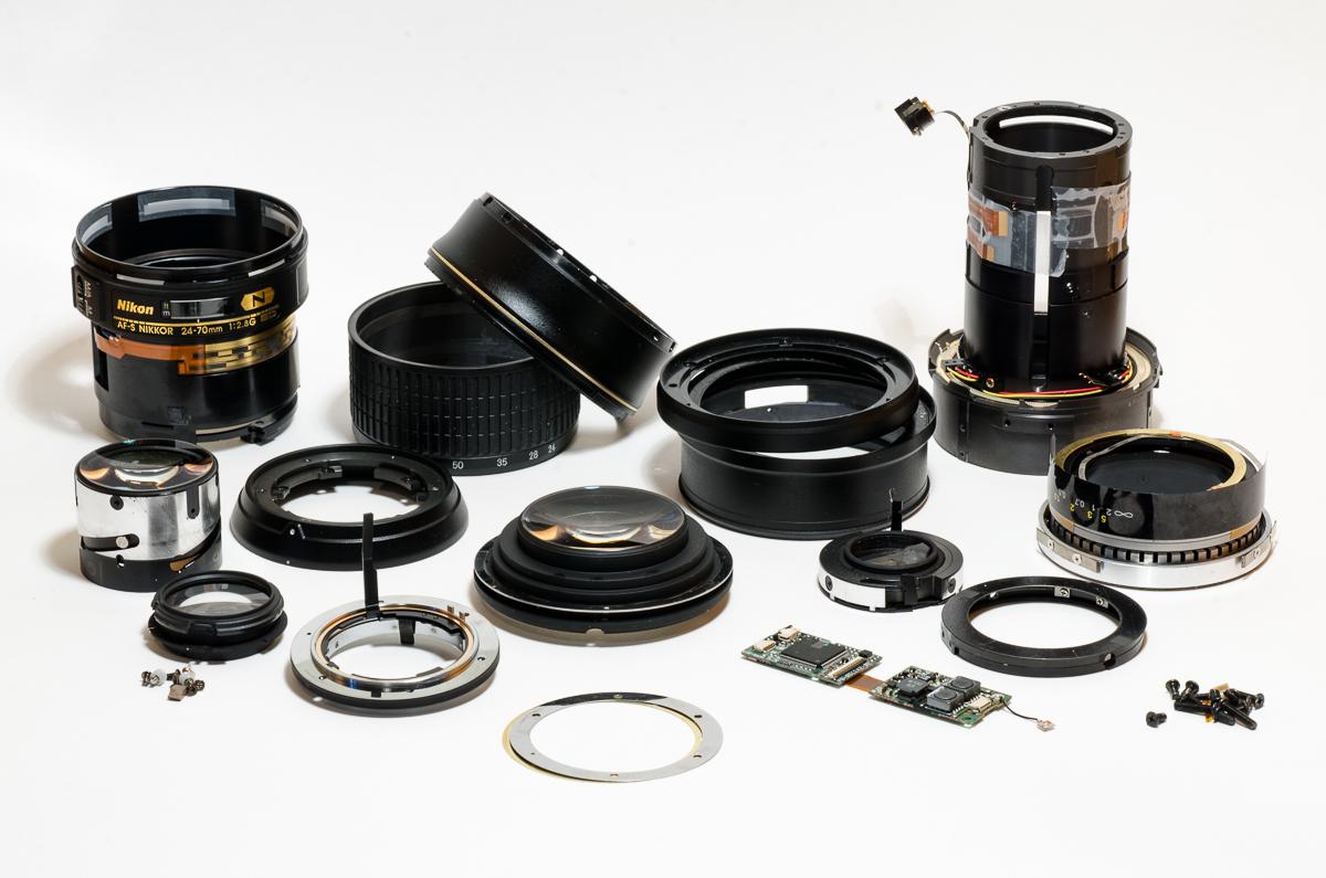 réparation nikon 24-70mm