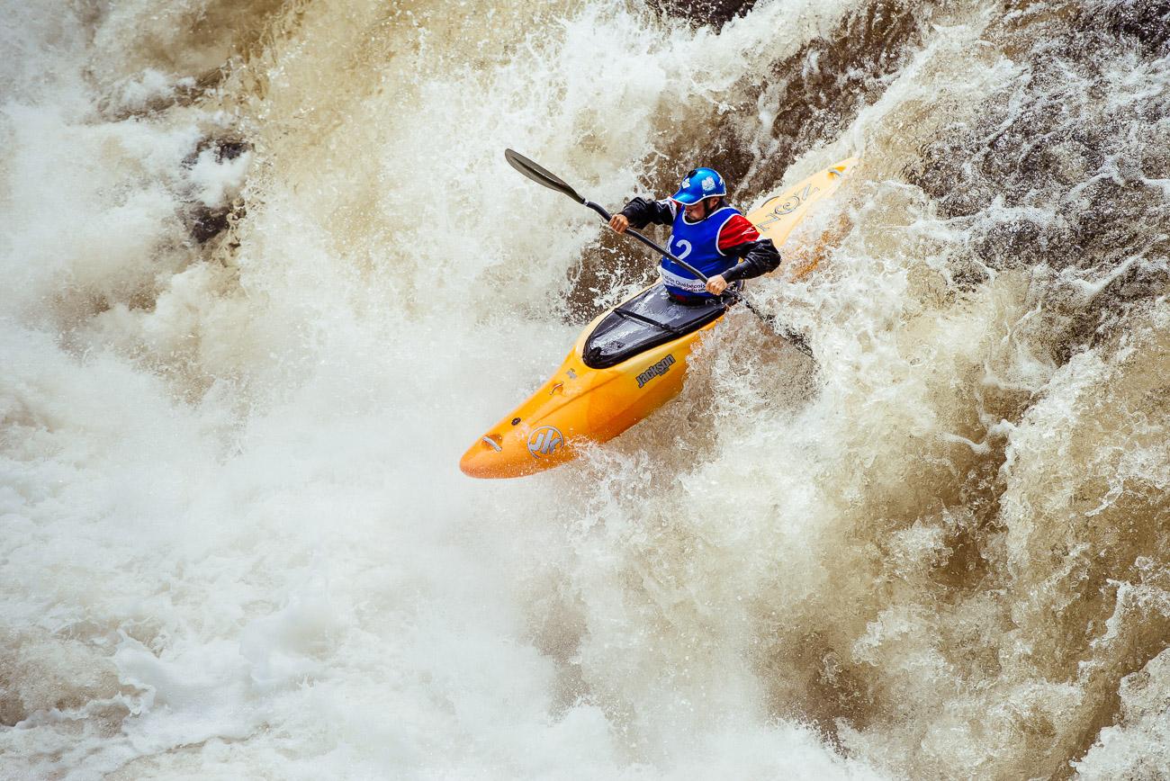 Compétition de Kayak au Québec