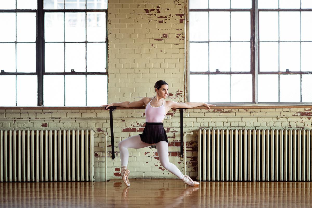 rosalie carron montreal pointes de ballet studio