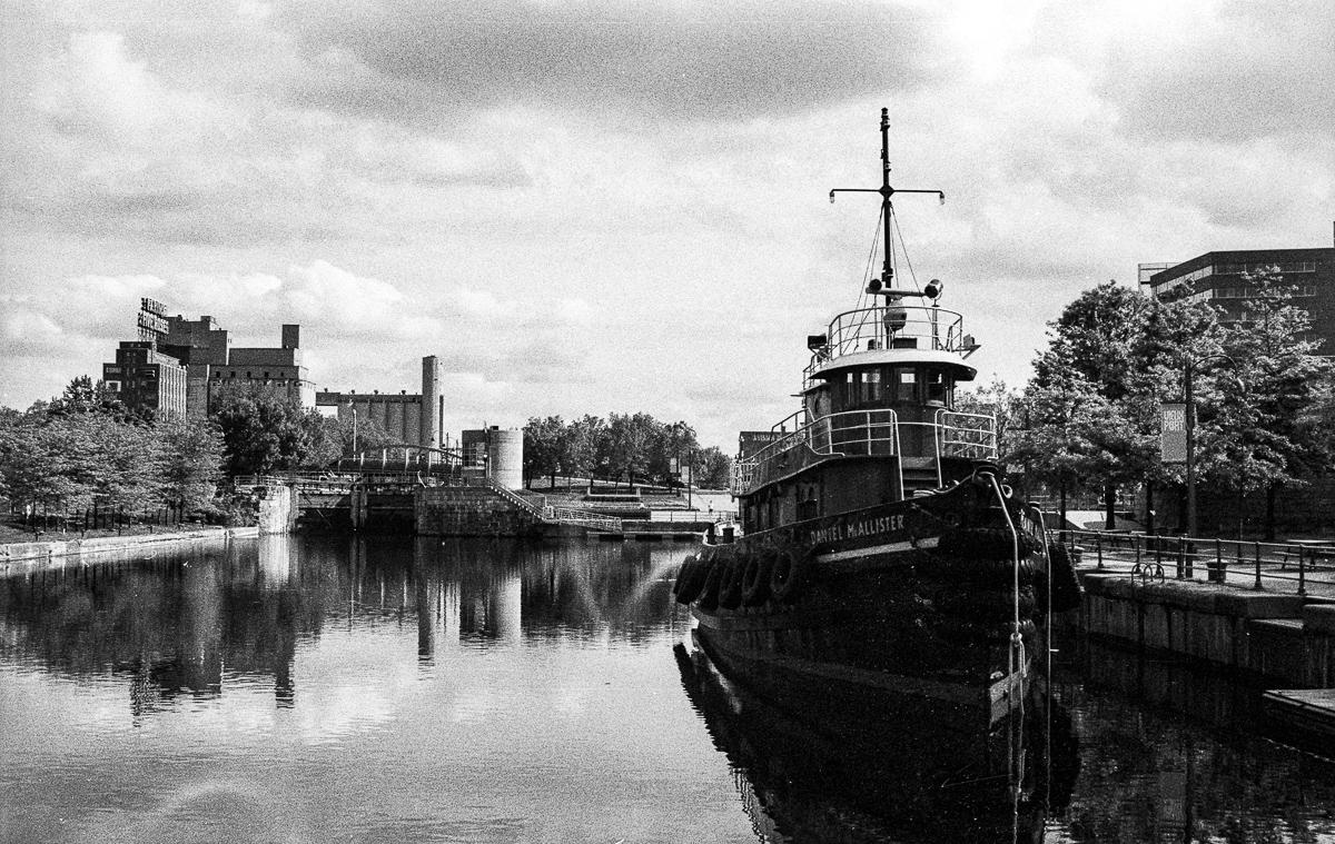 canal lachine montréal vieux port argentique