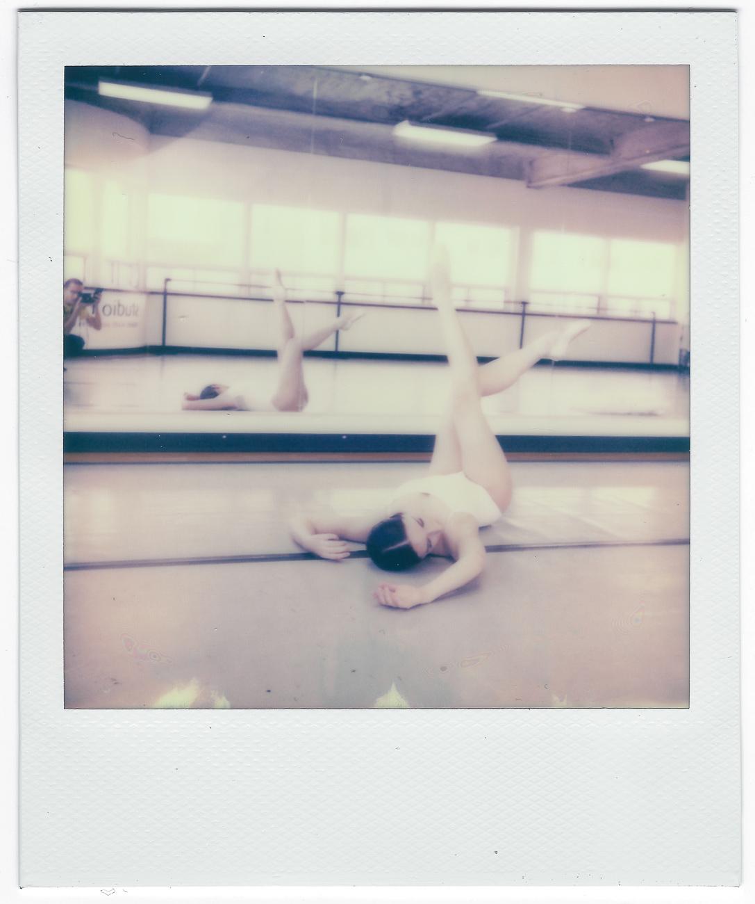 couleur polaroid one step plus ballet