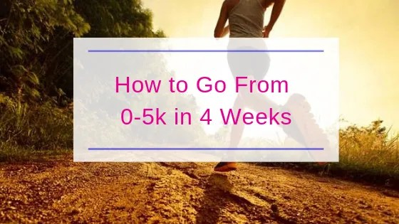 How to go from 0-5k in 4 Weeks | Steve Bonthrone Fitness