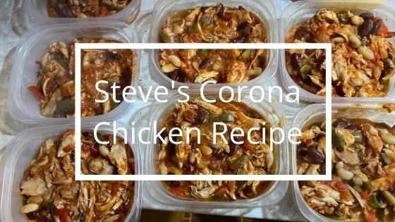 Steve' Corona Chicken Recipe | Personal Trainer in Perth | Steve Bonthrone