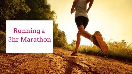 Running a 3hr Marathon | Steve Bonthrone Personal Trainer