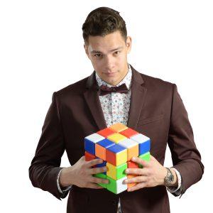 Steven Brundage Giant Rubik's Cube