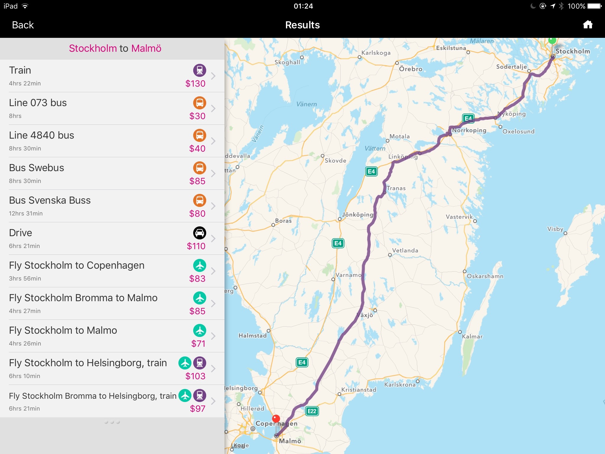 Essential Apps For Traveling In Parts Of Europe Steven Can Plan - Sweden map all cities