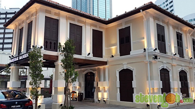 Farquhar Mansion Lebuh Farquhar Soothing Ambience Fine Dining Steven Goh 39 S Penang Food And