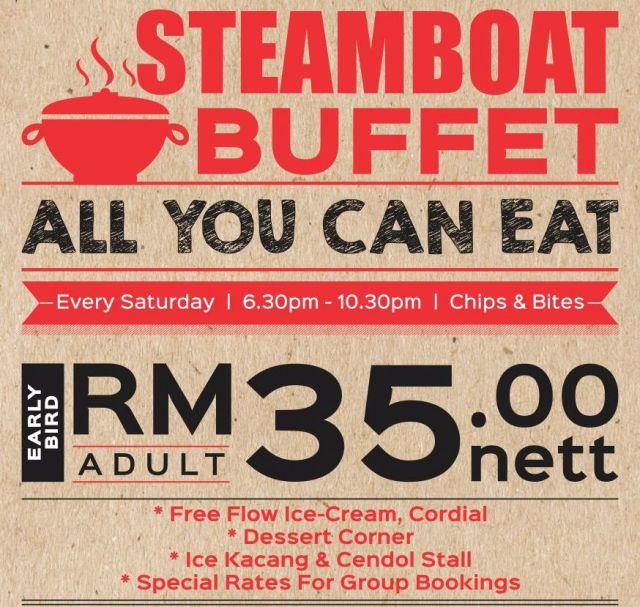 Steamboat-Buffet