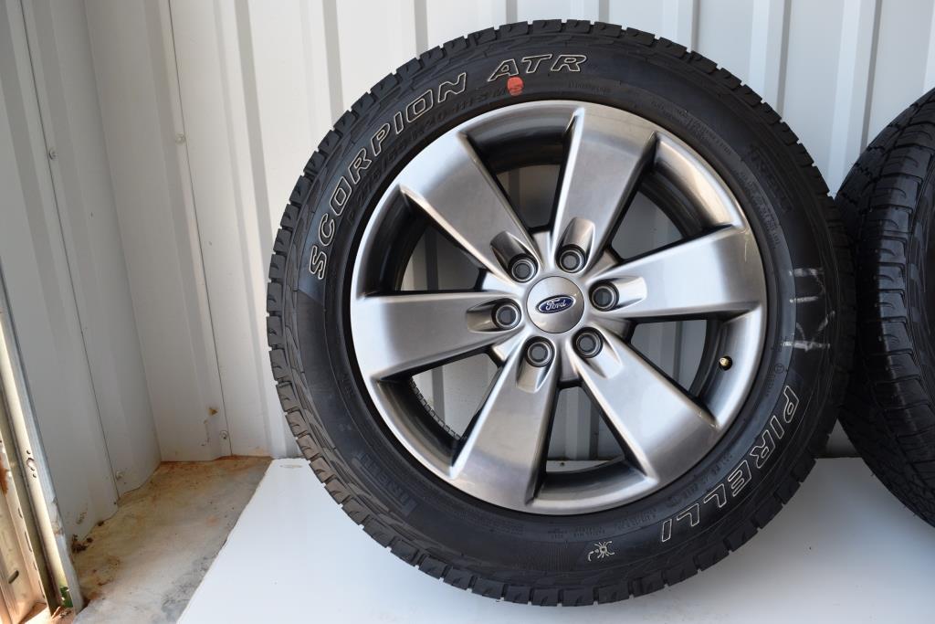 Ford F150 FX Factory OEM Wheels Rims