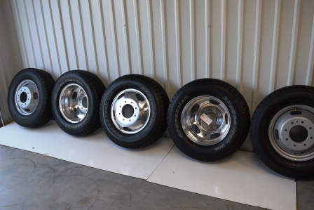 Ford F350 OEM Wheels Tires For Sale - 2015 Ford Dually K Ranch